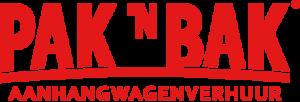Logo PaknBak aanhangerverhuur